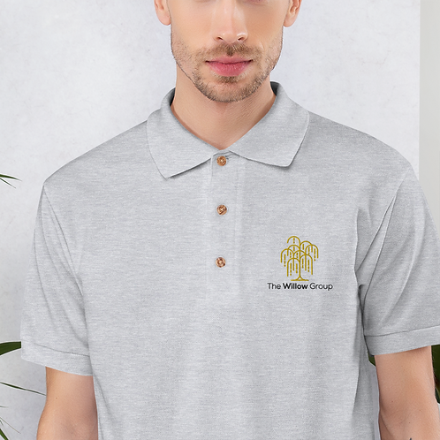 The Willow Group Embroidered Polo Shirt