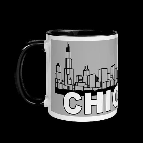 CHICAGO Mug with Color Inside