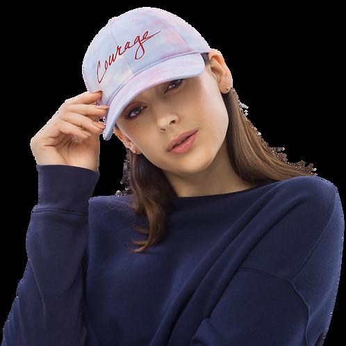 Courage Tie dye hat