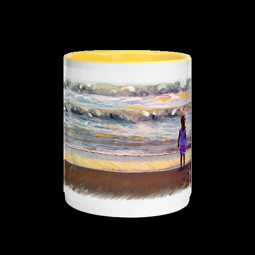 Big Ocean Mug with Color Inside