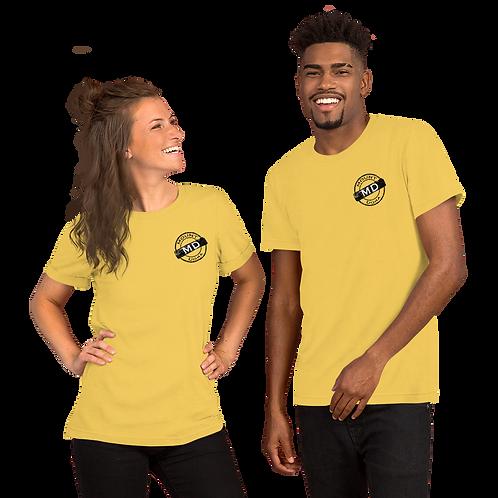 MOUNT DORA STAMP Short-Sleeve Unisex T-Shirt