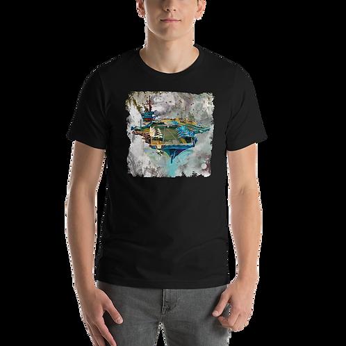 JFK CV-67 Short-Sleeve Unisex T-Shirt