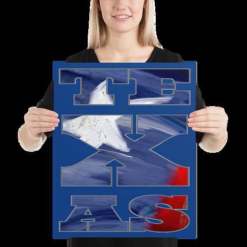TEXAS 16x20 Poster