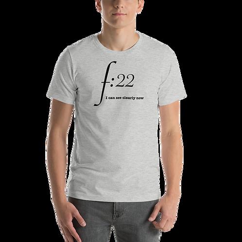 F:22 blk Short-Sleeve Unisex T-Shirt