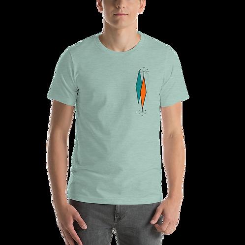 Mid Century Design 207 Short-Sleeve Unisex T-Shirt