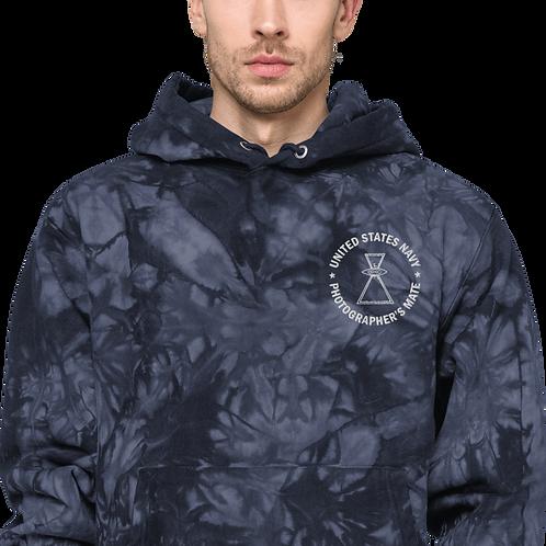 PH NO WINGS Unisex Champion tie-dye hoodie