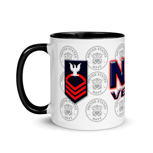 Navy Chief Mug with Color Inside