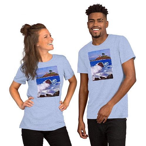 BATTERY PARK LIGHTHOUSE Short-Sleeve Unisex T-Shirt