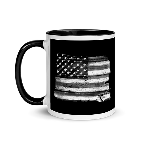 WE THE PEOPLE FLAG Mug with Color Inside