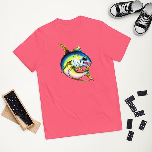 """TILLER THE TUNA"" Youth jersey t-shirt"