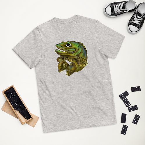 """""""KEEL THE GOLIATH GROUPER"""" Youth jersey t-shirt"""