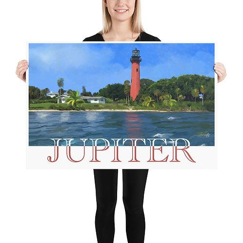 Jupiter, FL Poster