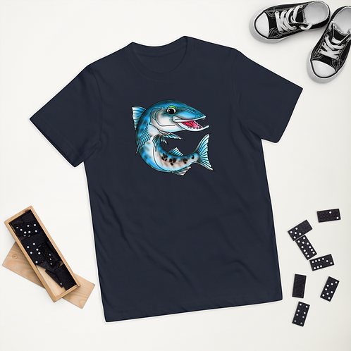 """""""WINCH THE BARRACUDA"""" Youth jersey t-shirt"""
