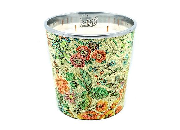 Bougie parfumée Sens Collection | Flower Green XL