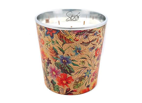 Bougie parfumée Sens Collection | Flower Orange XL