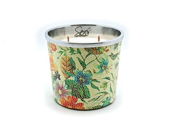 Bougie parfumée Sens Collection | Flower Green M