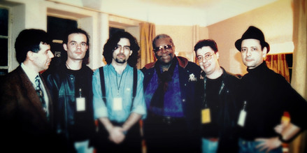 José Canha with B.B. King
