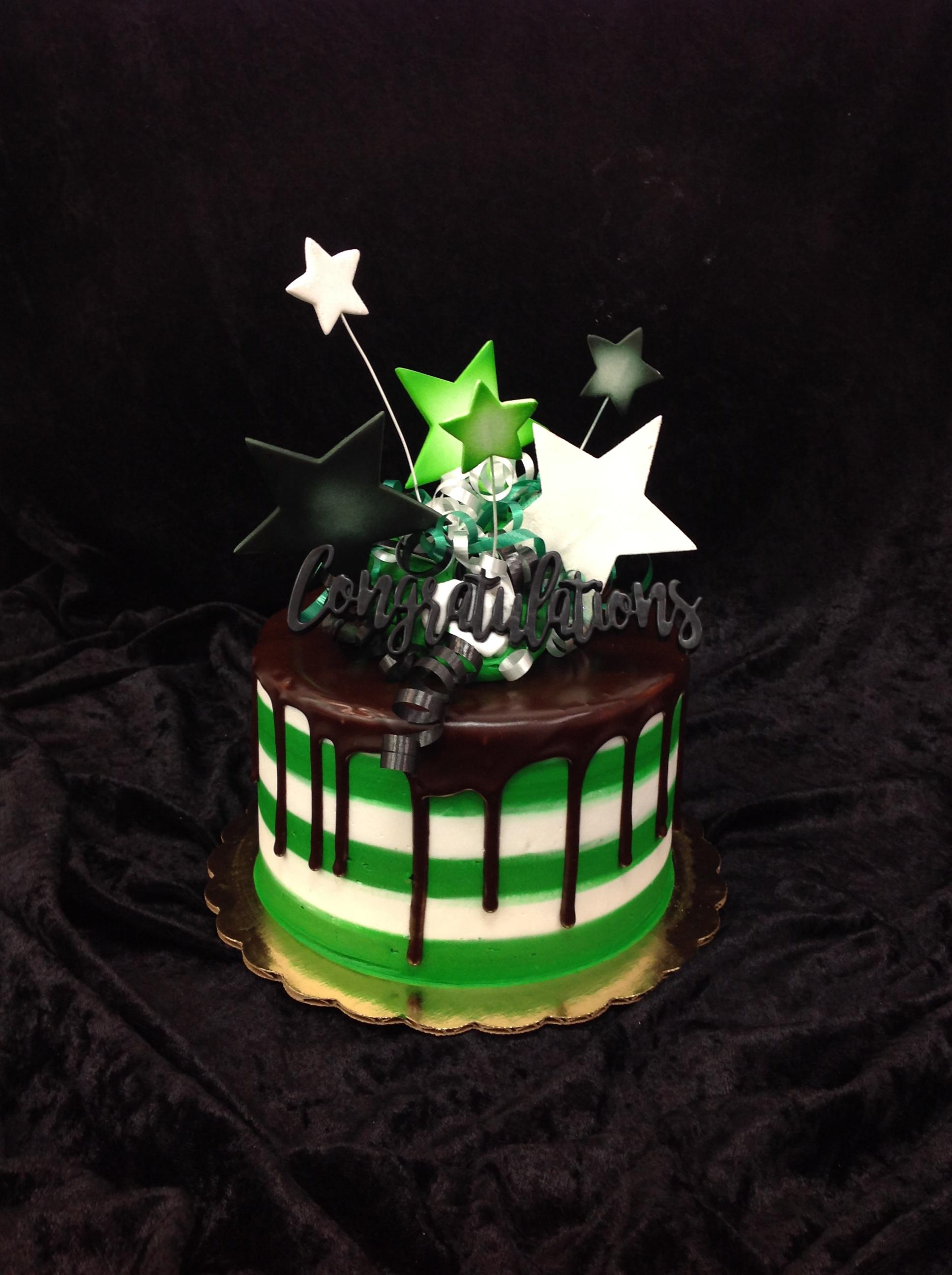 GB-136  Congratulation Drip Cake
