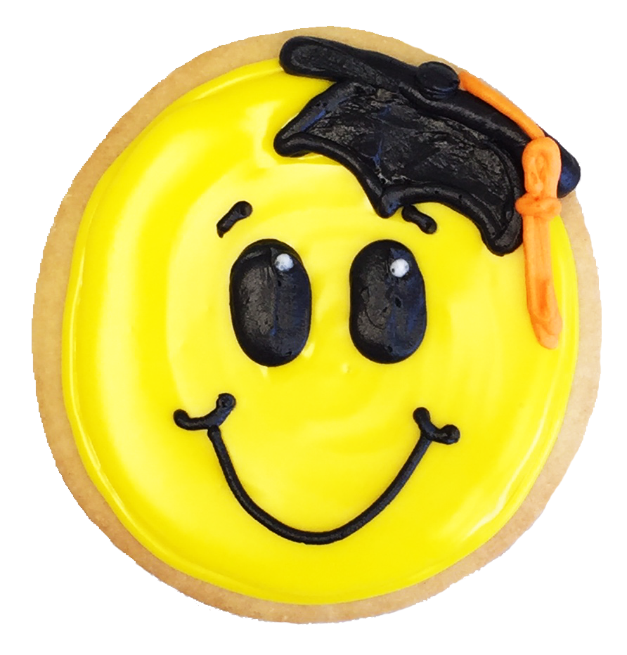 Grad Smile Cookie