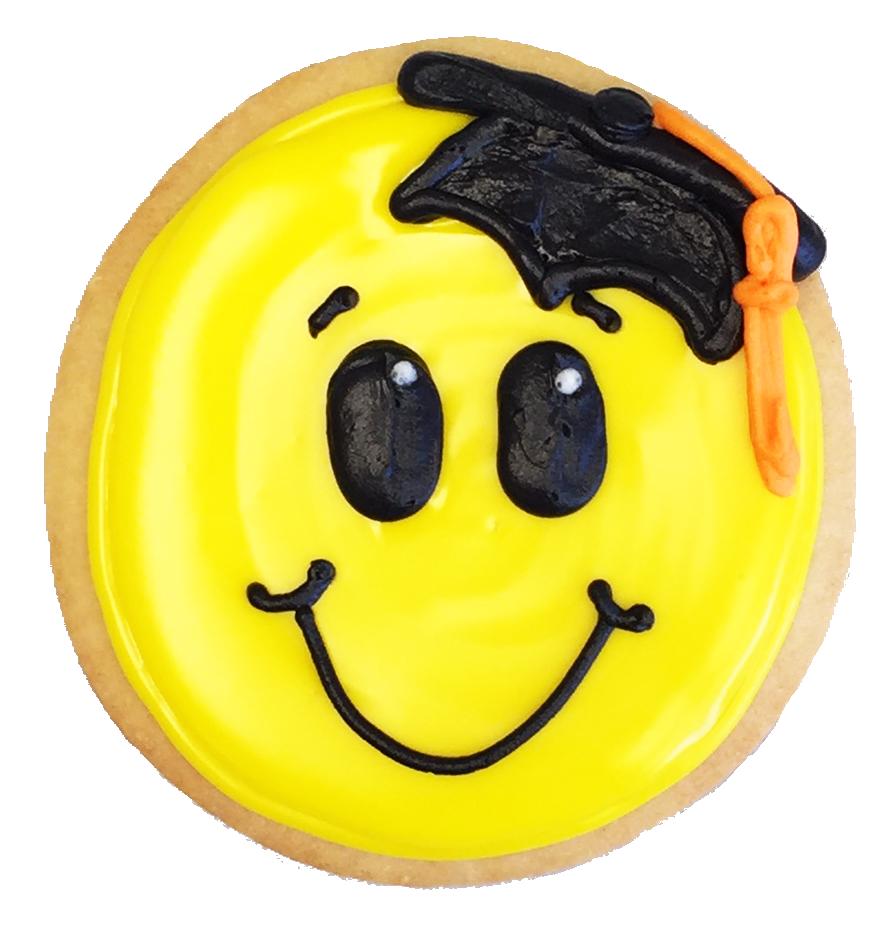 Grad Smile Cookie