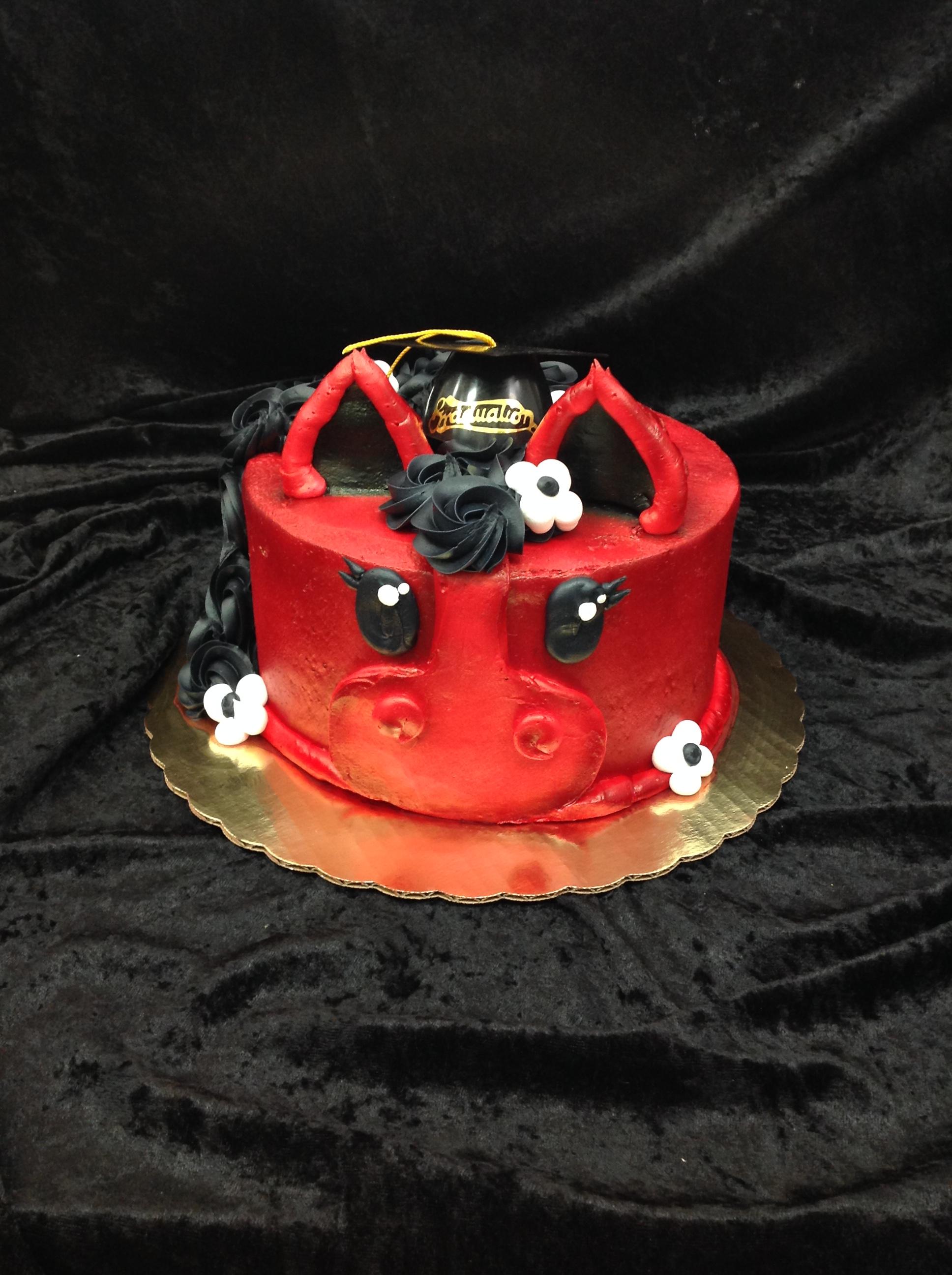 GB-137 Stillwater Pony Grad Cake