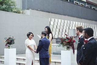 Xindi & Sebastian Civil Ceremony