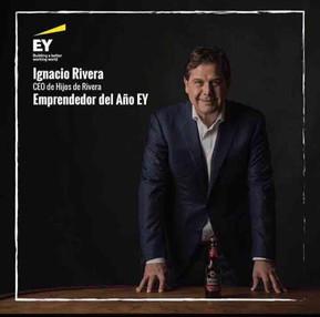 CEO da Hijos de Rivera, recebe premio de empreendedor do ano de 2017 na Espanha