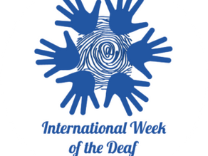 International Week of the Deaf; Sign Language Rights for All!