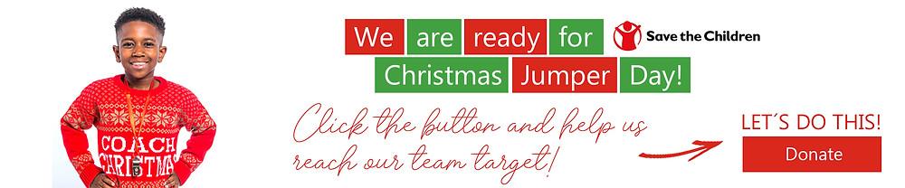 Christmas Jumper Day Deaf Umbrella - Donation