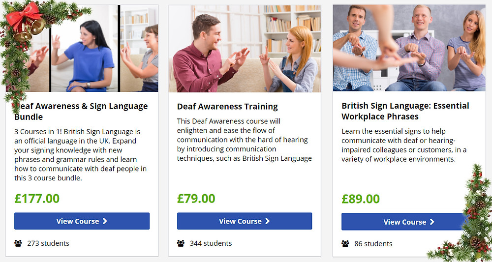 Deaf Awareness Training course by Deaf Umbrella