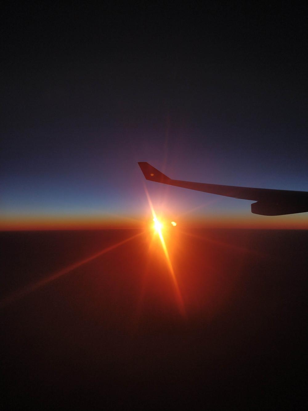 South Africa plane by Elisa Nuevo Vallin