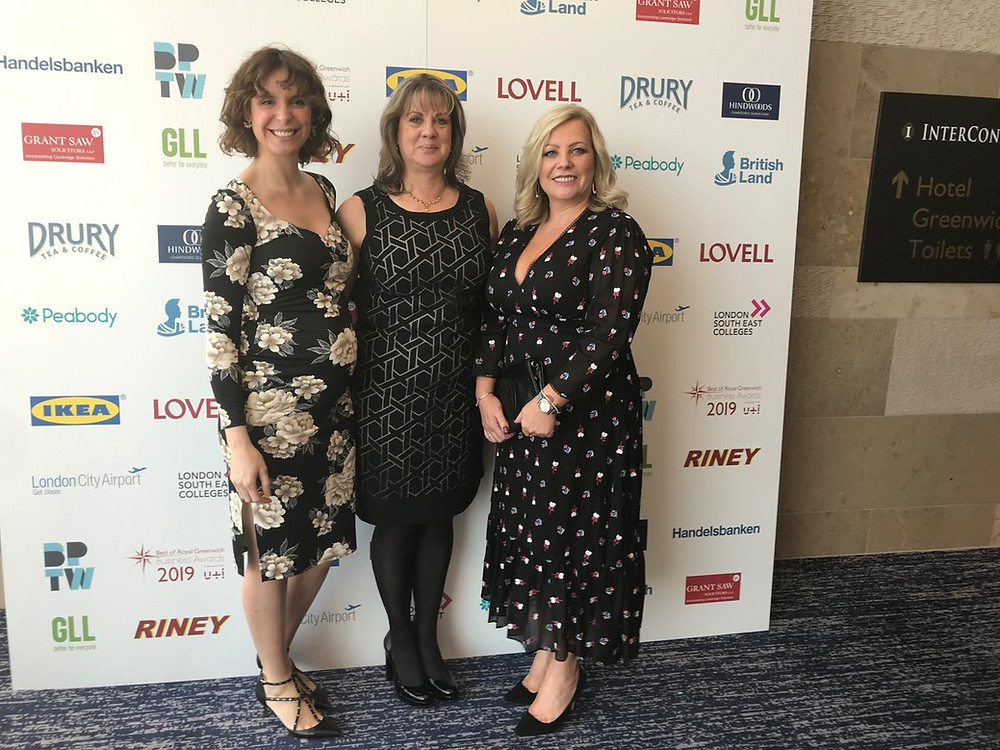 Greenwich Business Awards 2019 - Online business and Business of the Year winners