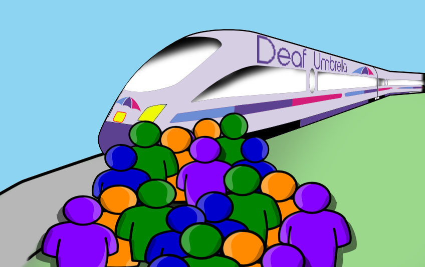 DEAF UMBRELLA TRAIN