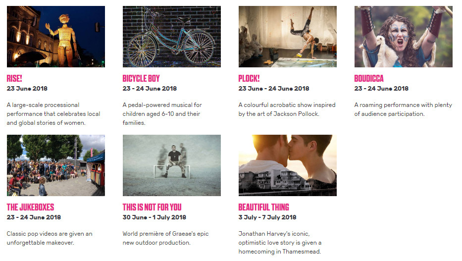 GDIF accessible programme