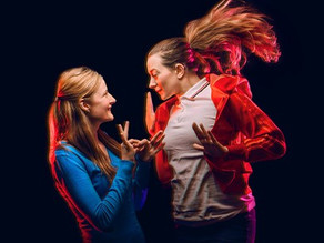 People Of The Eye; Play About Deafness Using British Sign Language (BSL)