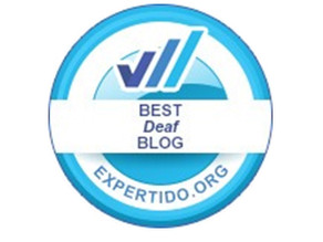 We have been awarded as one of the best deaf blogs!