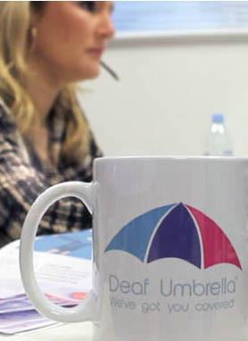 Louise - Deaf Umbrella