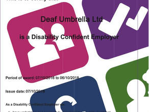 #disabilityconfident, WE DO!
