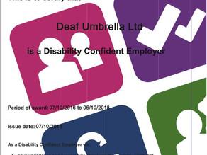 #disabilityconfident, WE DO!