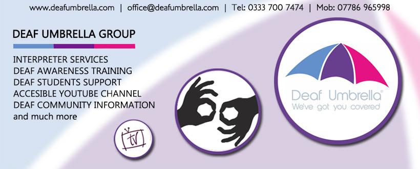 Deaf Umbrella Facebook Group