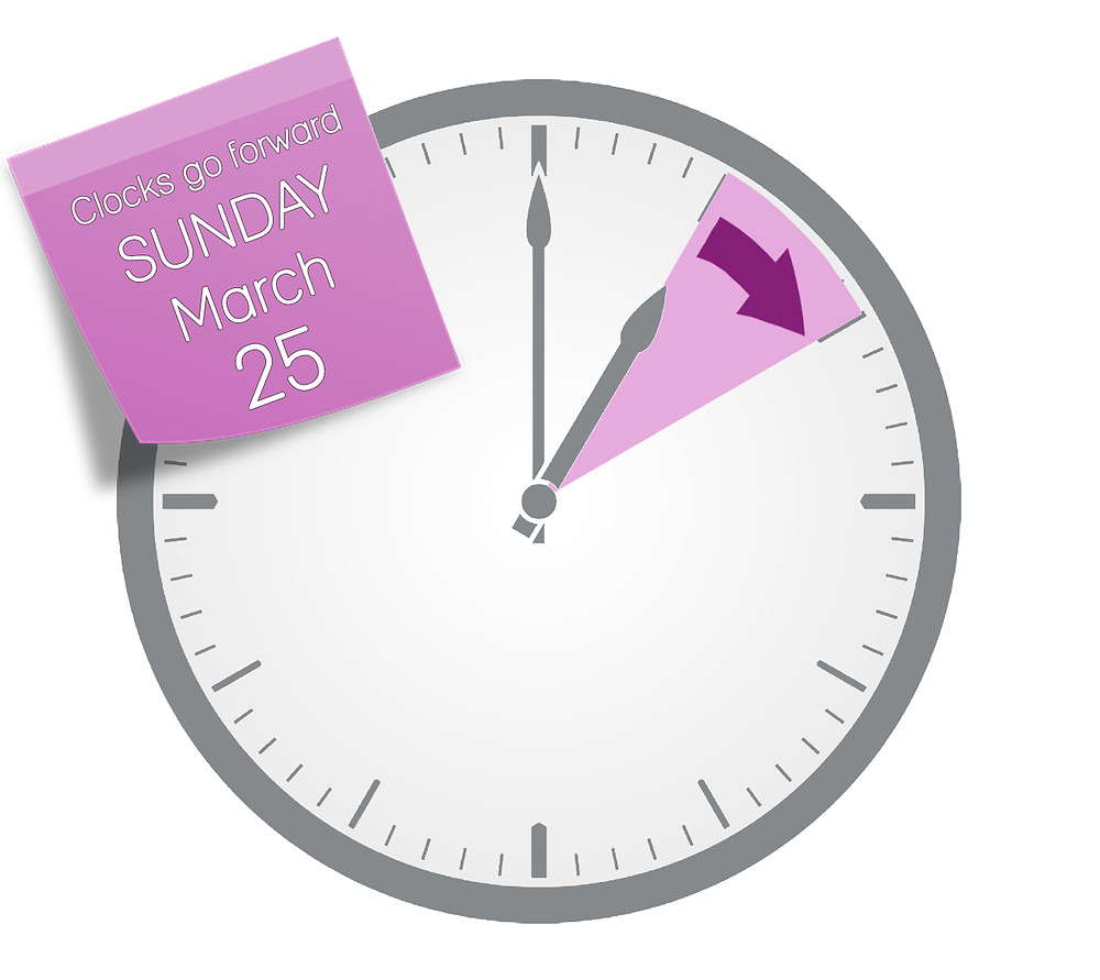 Clocks go forward BST