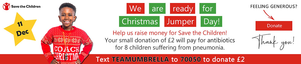 Save the Children Christmas Jumper Day - Donate!