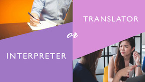 Translators and Interpreters; Differences and similarities
