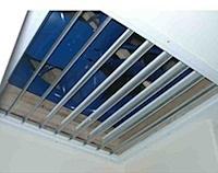 Ceiling shutter open