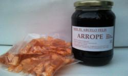 Exquisito ARROPE d miel abuelo felix