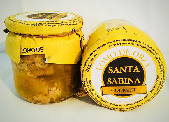LOMO DE ORZA EN ACEITE Santa Sabina