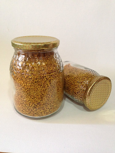 POLEN DE ABEJA EL ABUELO FELIX , tarro de 1/2 de miel.
