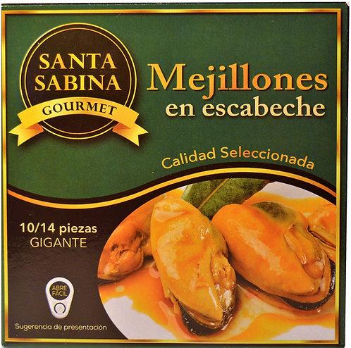 MEJILLONES EN ESCABECHE GIGANTE 280Gr