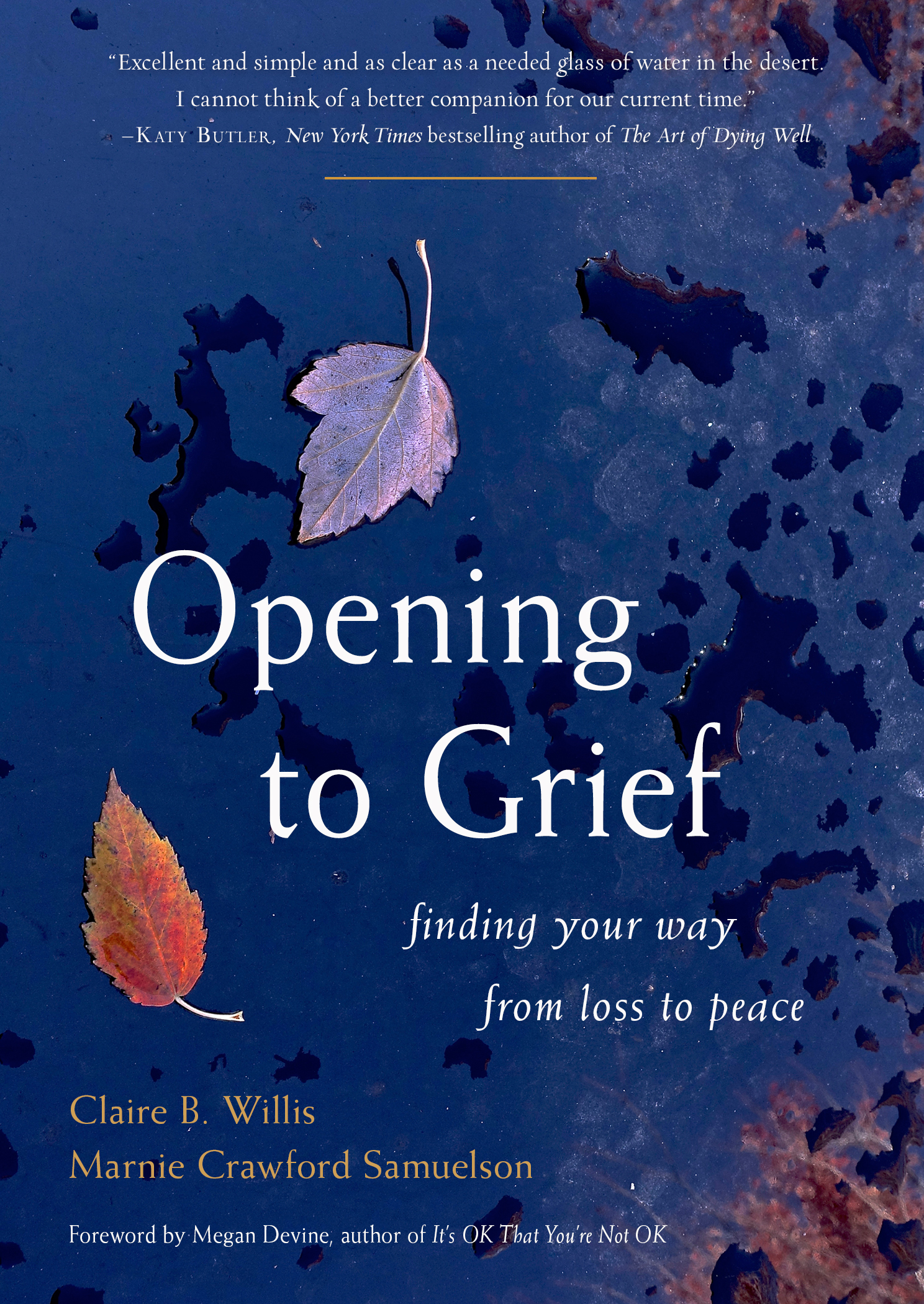 Opening to Grief Cover f