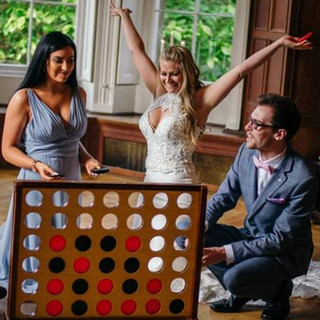 lawn & garden games hire wedding party cornwall